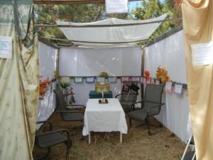 Our Sukkah 2011