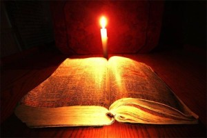 """Your word is a light to my path and a lamp to my feet"" (Psalm 119:105)."